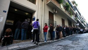 Werkloosheid eurozone in dalende lijn