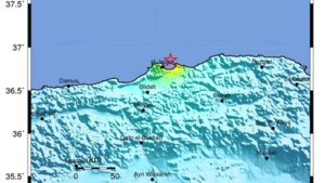 Paniek in Algiers door aardbeving
