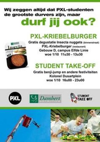 Studentenrestaurant PXL serveert insectenburger