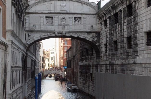 Luc Verhuyck praat  over Rome, Firenze en Venetië