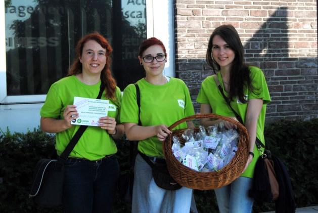 Grootste kleine chocoladeverkoop ten voordele van Oxfam op PXL