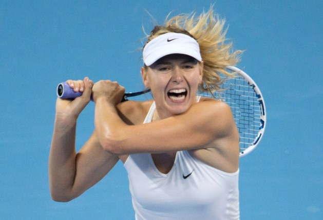 Maria Sharapova vervoegt Petra Kvitova in finale Peking