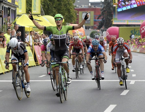 Theo Bos wint derde etappe Eurométropole, Démare blijft leider