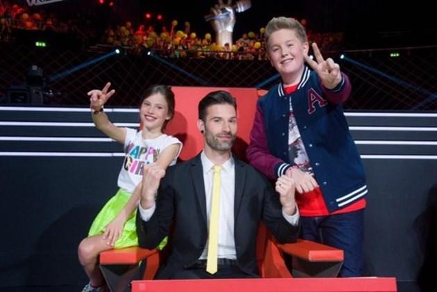 Juliette (10) en Jens (13) eerste finalisten The Voice Kids