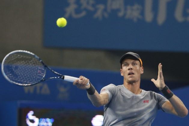 Tomas Berdych speelt finale Peking tegen Novak Djokovic