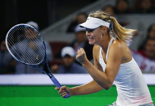 Maria Sharapova steekt in Peking 33e titel op zak