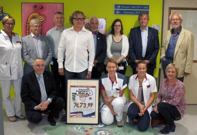 Kiwanis Zolder-Terlaemen schenkt 7.673 euro aan SFZ
