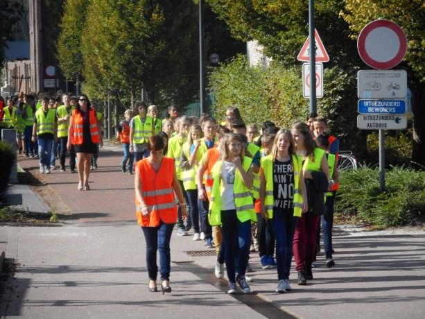 Middenschool Meeuwen fluit voor 'Saved by the Bell'