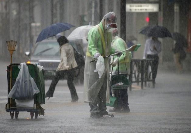Krachtige tyfoon Phanfone bereikt centrum Japan
