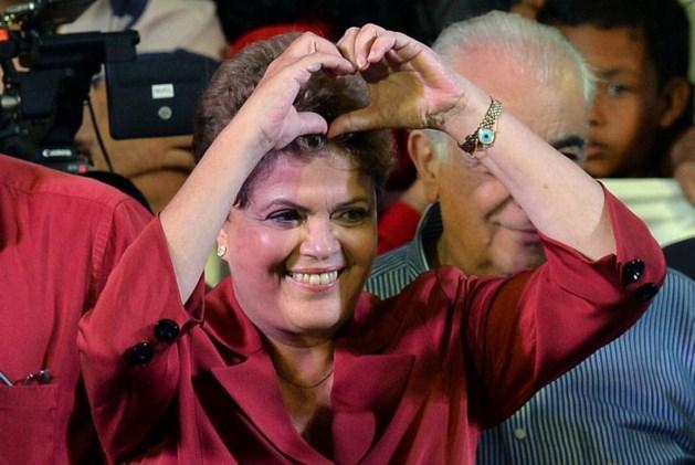 Rousseff wint eerste ronde Braziliaanse presidentsverkiezingen voor Neves
