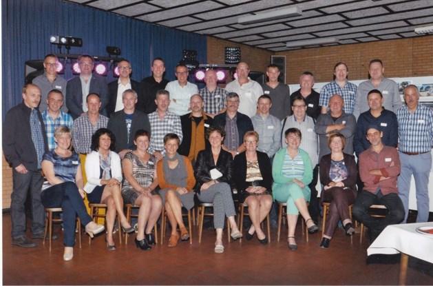 50-jarigen Heusden Centrum vieren feest