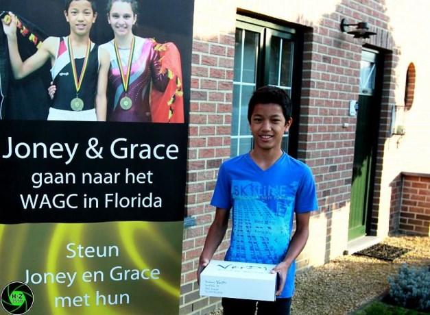Joney en Grace naar WK trampoline springen in Florida