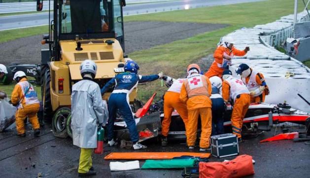Onzekerheid over toestand F1-piloot Bianchi