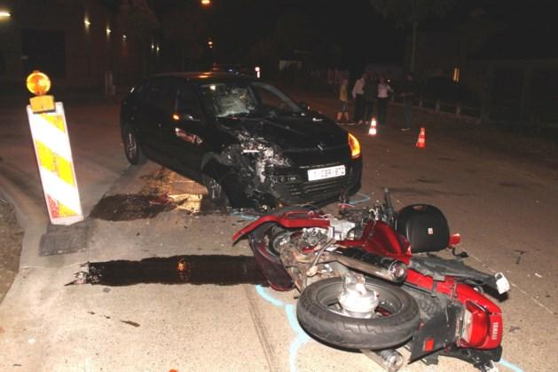 Motorrijder zwaargewond
