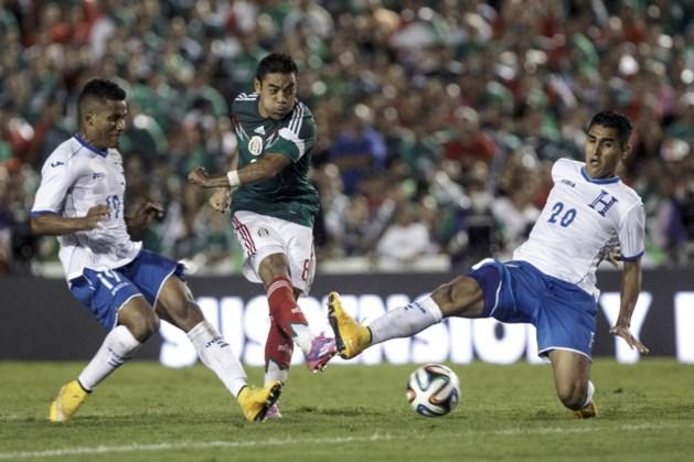 Andy Najar met Honduras onderuit tegen Mexico