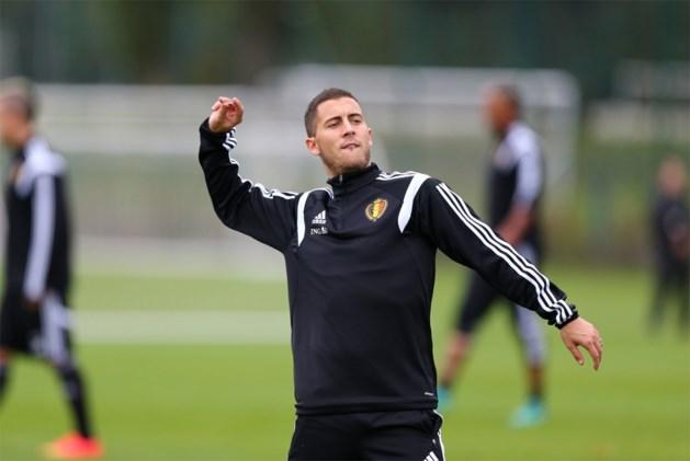 Eden Hazard speelt niet tegen Andorra