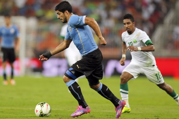 Wederoptredende Suarez bijt tanden stuk op Saudi-Arabië