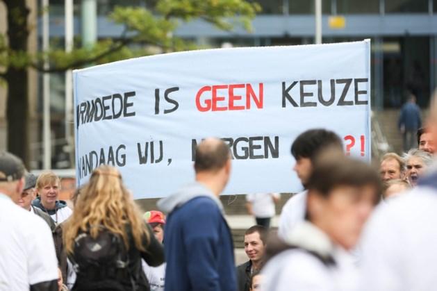 Honderden mensen op straat tegen armoede in Brussel