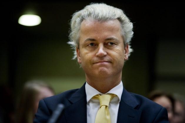 'Meer dan de helft van de Nederlanders tegen vervolging Wilders'