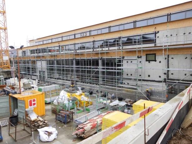Afwerking gevels Stedelijke Bouwvakschool Dilsen van start