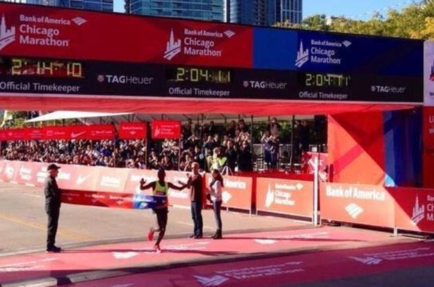 Keniaan wint marathon van Chicago