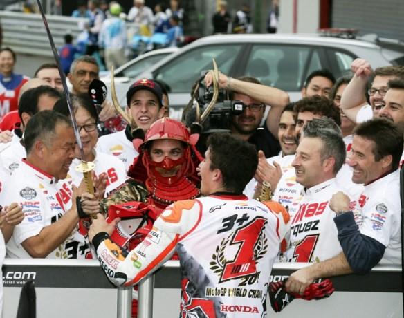 Marquez pakt tweede opeenvolgende wereldtitel in MotoGP