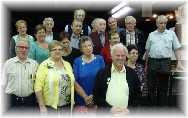 Verdienstelijke leden gehuldigd tijdens jaarfeest Sint-Pietersgilde Tervant