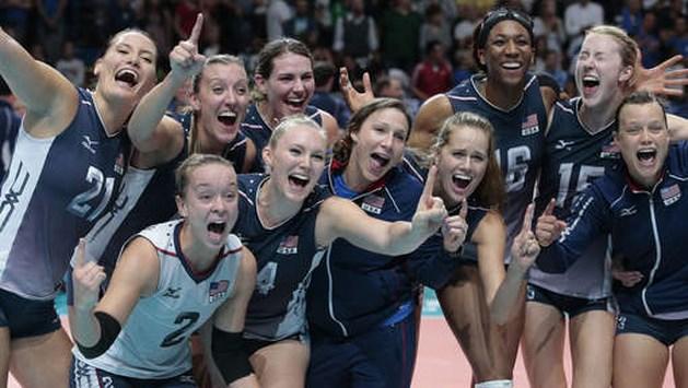 Amerikaanse vrouwen zijn wereldkampioen volleybal