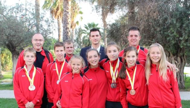 2 keer Europees goud voor karateclub KCAR