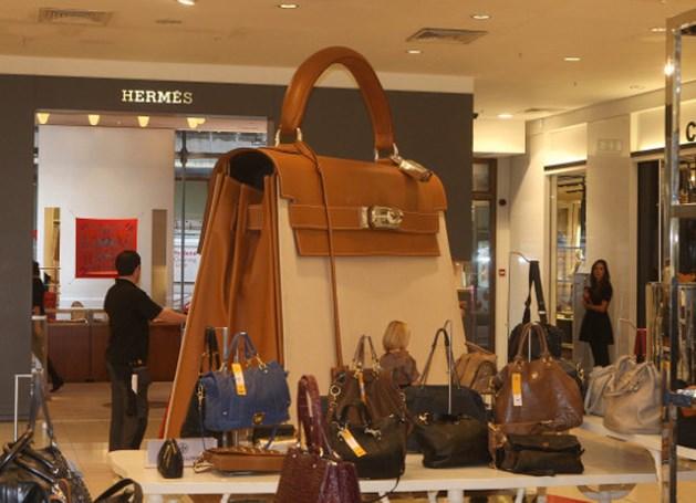 'Handtassen van Hermès ruiken naar marihuana'