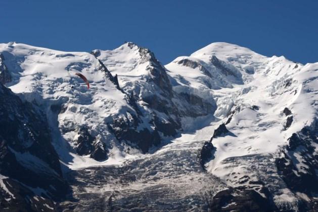 Twee Belgen gered na twee nachten op Mont Blanc