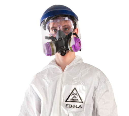 De foutste Halloweenoutfit ooit: een ebolakostuum