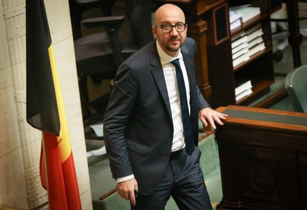 Kamer heeft het vertrouwen gegeven aan de regering-Michel