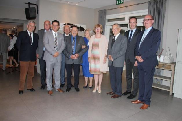 Eén prinses en acht burgemeesters op 85ste verjaardag van Jef Smets