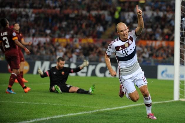 Bayern vernedert Roma met 1-7, 40 (!) goals op één avond Champions League
