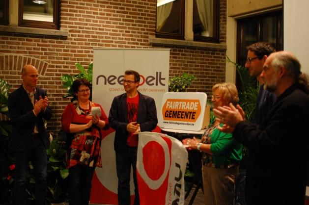 Gemeente Neerpelt krijgt titel FairTradeGemeente