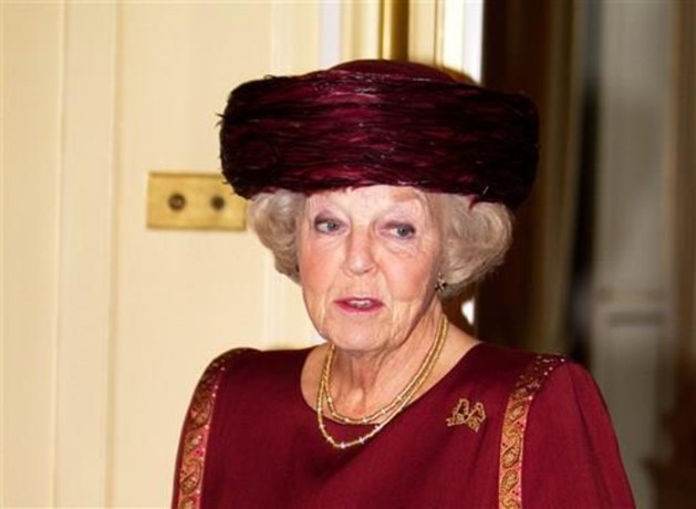 Prinses Beatrix komt naar België