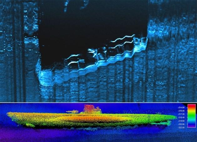 Gezonken Duitse onderzeeër gevonden op bodem Atlantische Oceaan