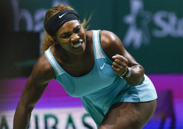 Serena neemt klinkende revanche tegen Bouchard