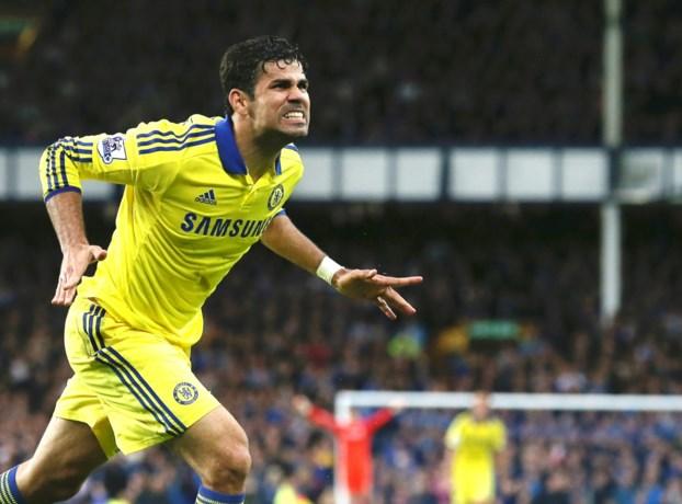 Chelsea-spits Diego Costa in ziekenhuis