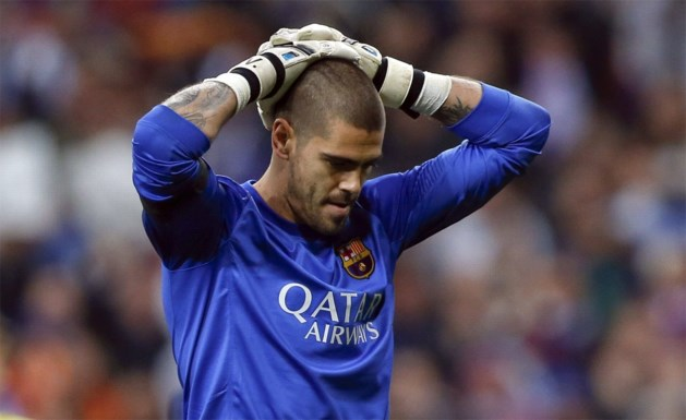 Victor Valdes (ex-Barça) traint mee bij... Manchester United