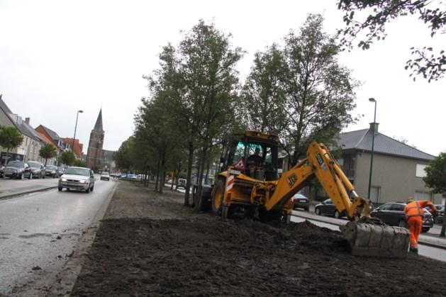 Heraanleg middenberm centrum Meeuwen