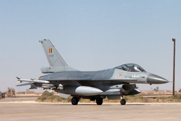 Belgische F-16's blijven langer in Irak