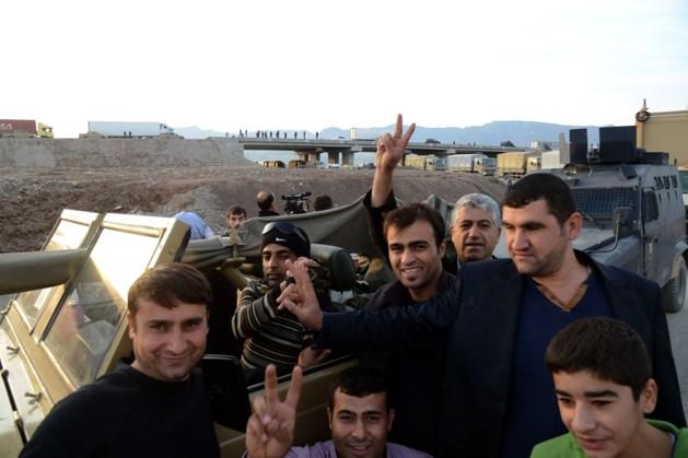 Peshmerga-strijders nu op weg naar Kobane