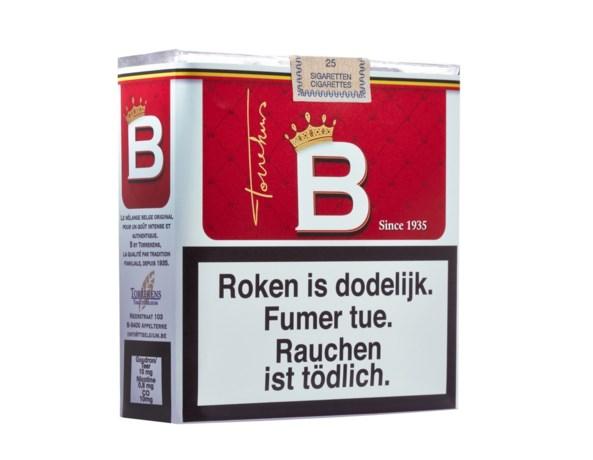 Belg lanceert kopie van iconische Belga-sigaret