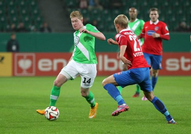 Thorgan Hazard scoort, De Bruyne geeft assist in Duitse beker
