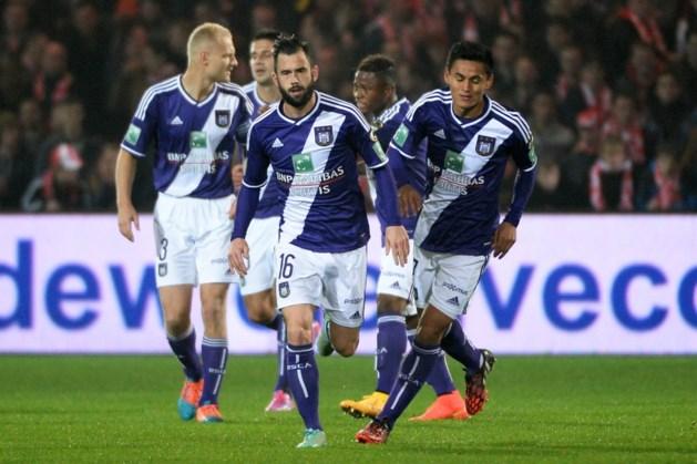 JUPILER PRO LEAGUE. Anderlecht zwoegt naar zege, Standard wint in extremis