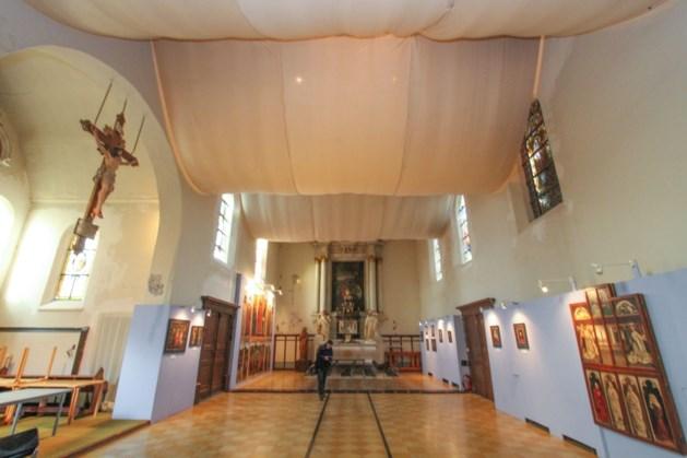 Tentoonstelling kunstwerken Van Eyck uitgesteld wegens instortend plafond
