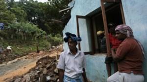 Zeker 14 doden bij aardverschuiving in Sri Lanka