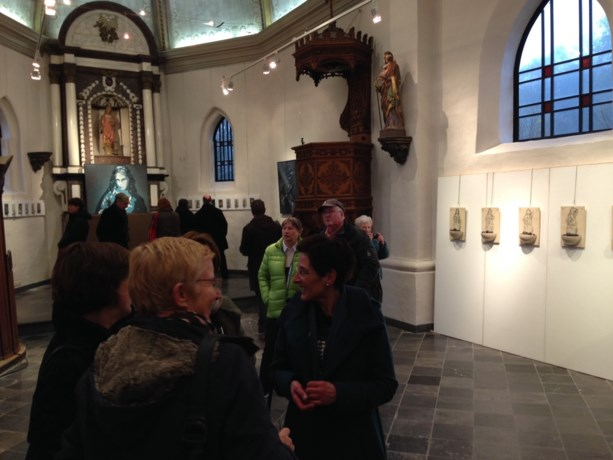 Kerkje van Laak brengt Sint-Barbara in beeld